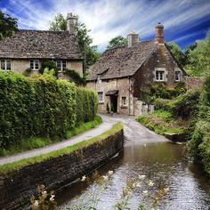 English Cottage Photograph  - English Cottage Fine Art Print