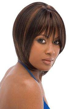 Weave Hairstyles with Bangs | Anisa - Synthetic Hair Wig - Quick Weave Complete - Outre| Laissez ...