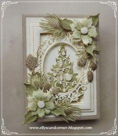 Elly's Card- Corner, Christmas card