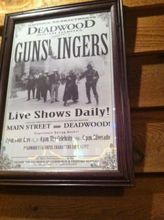 Deadwood!
