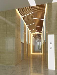 Risultati immagini per hotel lift hall Lobby Design, Hall Design, Door Design, Exterior Design, House Design, Signage Design, Lobby Interior, Interior Lighting, Interior Architecture