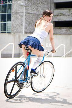 TheFiXFiXFiX » Katy and her Pake | Girls On Bikes | 2012 Calendar
