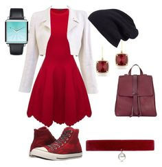 """""""Untitled #15"""" by abiz666 ❤ liked on Polyvore featuring Alexander McQueen, Chanel, Halogen, Nixon, Converse, Anne Sisteron, Joomi Lim and Jigsaw"""