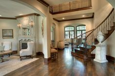 Willowend - traditional - staircase - houston - Rice Residential Design