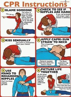 so wrong, yet funny! CPR