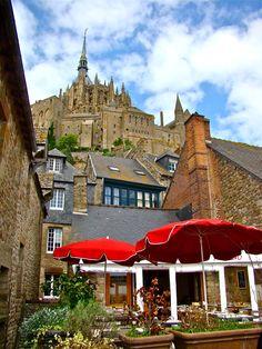 Mont Saint-Michel, France by David Melgar