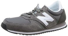 7.5 UK, Grey (Grey), New Balance 420, Unisex-Adults' Trainers