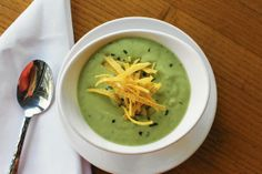 Avocado soup at SeaWatch On The Ocean in Fort Lauderdale.