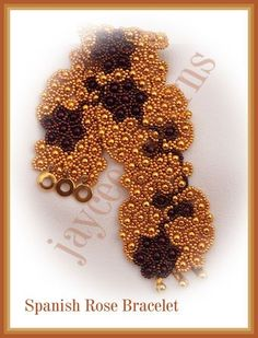 Spanish Rose pattern - Netting stitch by jayceepatterns http://www.jayceepatterns.com