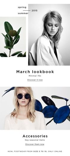 March lookbook & Accessory essentials