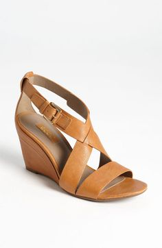 If I were to wear heels, these would work! ECCO 'Ossima' Wedge Sandal | Nordstrom