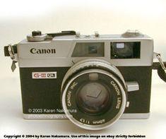 Canon Canonet GIII QL17