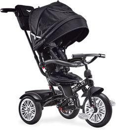 New Bentley Trike Reversible Seat Convertible Tricycle Stroller Onyx Black BentLey Craftmanship Designed in collaboration with Bentley Motors Limited, th Bentley Auto, Black Bentley, Bentley Motors, Kids Trike, Cute Babies, Baby Kids, Baby Boy, Convertible Stroller, Baby Gear