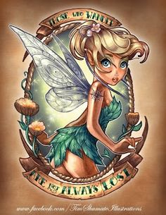 Tink! The PinUp Art: Cartoon Pinup... from Disney and Dreamworks
