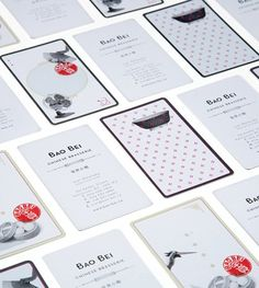 Designspiration — Bao Bei Chinese Brasserie : Lovely Stationery . Curating the very best of stationery design