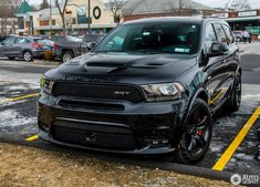 Dodge Durango SRT 2018 in Yorktown Heights (NY), United States of America Spotted on by Rivitography Dodge Suv, Dodge Motors, Dodge Nitro, 2018 Dodge, Dodge Challenger, My Dream Car, Dream Cars, Srt8 Jeep, Jeep Grand Cherokee Srt