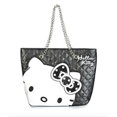 Hello Kitty Quilted Tote Bag