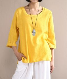 Johnature Spring And Summer Cotton T-Shirt | Furrple