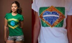 Dicas de customização de camisetas para a Copa do Mundo 2014