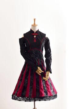 君聆_中華風lolita 中國風連衣裙-千帳燈-定金頁面