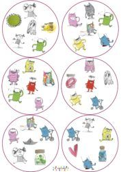 La couleur des émotions : dobble – MC en maternelle Image Emotion, Pinterest Website, Monster, Learning Activities, Lily, Positivity, Animation, Teaching, Education