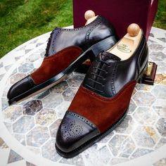 We have the following cancelled MTO shoes for sale. These are simply returned, cancelled or uncollected due to sizing or mis-specification. They are 100% Pristine and Perfect Grade A shoes. MODEL: Oxford ToeCap LAST: K COLOUR: Suede & Oxblood...