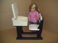 American girl doll school desk