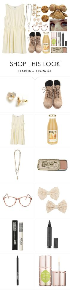 """""""1294"""" by ohgoditsyou-k ❤ liked on Polyvore featuring Kate Spade, Monki, American Apparel, MOOD, Raven Denim, Topshop and Benefit"""