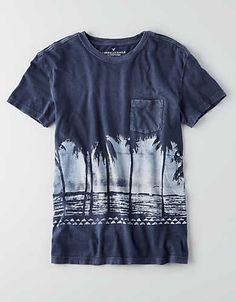 AEO Graphic T-Shirt, Fleet Navy | American Eagle Outfitters