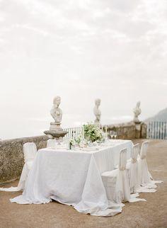 Roman Romance at Villa Cimbrone on the Amalfi Coast of Italy - KT Merry Photography; perfect wedding