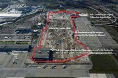 Most of Willow Run has been demolished. Lower left will be new National Museum of Aviation and Technology in Ypsilanti Michigan, Passenger Aircraft, New Museum, Us Air Force, Ford Motor Company, National Museum, Wwii, Aviation, Military