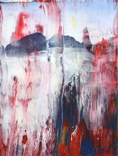 "Saatchi Online Artist Gloria Verge; Mixed Media, ""Abstract landscape"" #art"