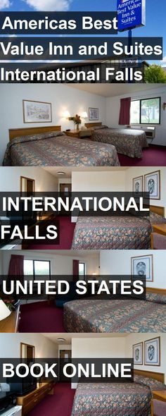 Hotel Americas Best Value Inn and Suites International Falls in International Falls, United States. For more information, photos, reviews and best prices please follow the link. #UnitedStates #InternationalFalls #hotel #travel #vacation