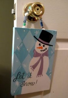 Custom Snowman Diamonds Winter Christmas by dreamcustomartwork