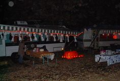 Halloween Camping ideas.