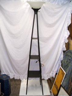 Floor Lamp with Shelves Floor Lamp With Shelves, Tall Lamps, Street Lights, Wardrobe Rack, Flooring, Furniture, Home Decor, Decoration Home, Floor Standing Lamps