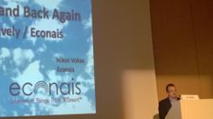 Nikos Vokas presenting at M2M Forum 2014 in Italy. To the Cloud and Back Again - Econais/Xively/Econais #IoT #M2M #wifi