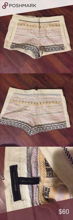 Bcbg MaxAzria crochet shorts size 0 Bcbg MaxAzria Crochet shorts Only worn Twice. In excellent condition. BCBGMaxAzria Shorts