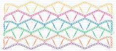flower lace stitch crochet chart free pattern