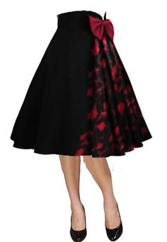 Pleated Bow Skirt by Amber Middaugh