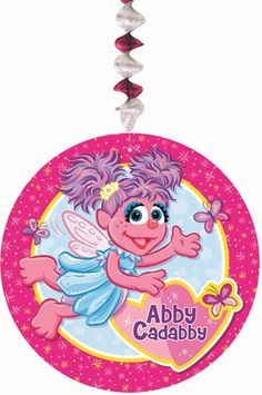 Dangling Abby Cadabby Cutouts|Fast Shipping|3 per package