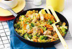 Curry-Reis mit Huhn und Gemüse Foto: © Wolfgang Schardt