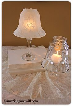 Pale Candle Centerpieces - get started early on season decor. Looks for light fixtures from to complete this craft!Candle Centerpieces - get started early on season decor. Looks for light fixtures from to complete this craft! Glass Globe, Glass Candle, Glass Art, Candle Wax, Diy Candle Centerpieces, Diy Candles, Centrepieces, Wedding Centerpieces, Wedding Favors
