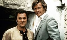 Tony Curtis and Roger Moore as Danny Wilde and Lord Brett Sinclair