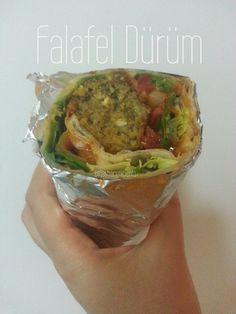 GastroCenicienta: Falafel Dürüm (Vegano y Casero)