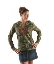 NEW - GWG Mossy Oak Hoodie  We are the first dealer in Texas to carry Girls with Guns apparel. Stylish women's clothing with a shooter's and hunter's flair.