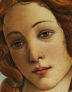 SANDRO BOTTICELLI, La Nascita di Venere (particolare