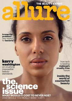 Kerry Washington for Allure US November 2017 | Art8amby's Blog