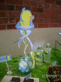 Rubber Ducky Baby Shower Party Ideas | Photo 7 of 8 | Catch My Party
