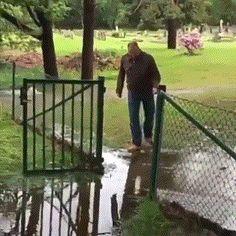 He has a great sense of humor to laugh at himself!